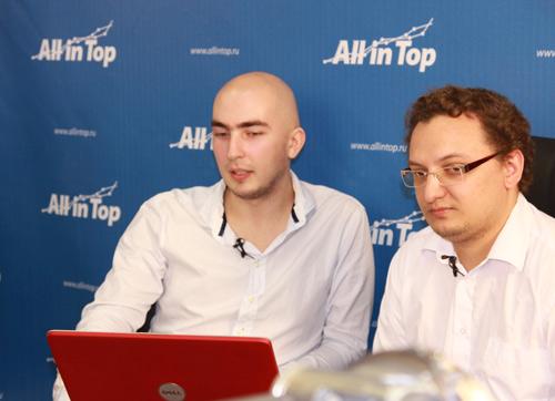 Александр Люстик и Василий Ткачев