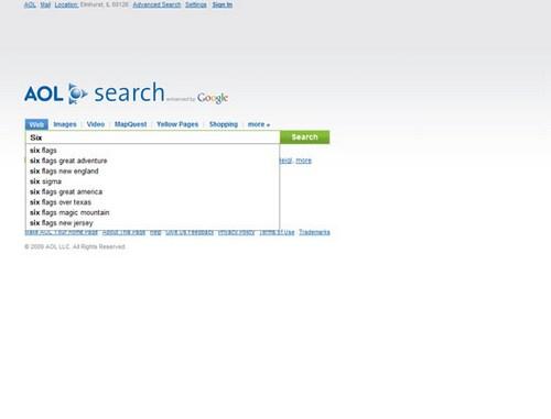 AOL Search 2009