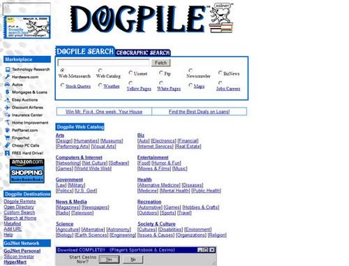 Dogpile 1998