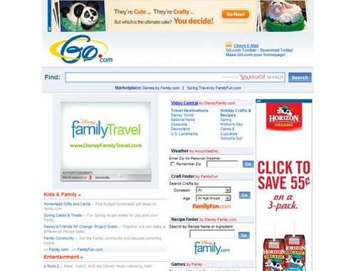 Infoseek (Go.com) 2009