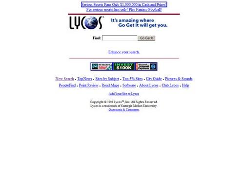 Lycos 1996