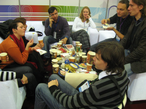 RIW–2009: Russian Internet Week. Серчане.