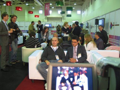 RIW–2009: Russian Internet Week. Александр Люстик и Наиль Байков.
