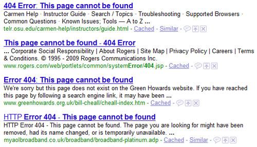 Почему такие страницы выводятся в выдаче Google?