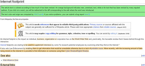 Wiki Trust