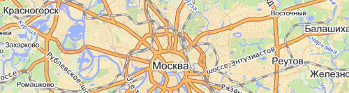 Яндекс Карты - трафик по адресам организаций