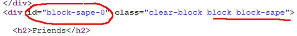 Действительно - ссылки с сапы, должны называться sape :)