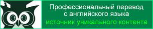 Профессиональный перевод с английского языка на русский