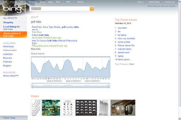 Bing xRank