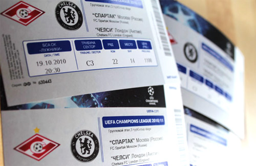 Билеты Спартак Челси