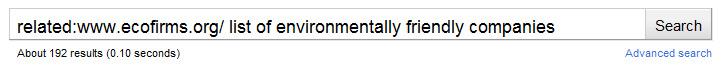 related: <a href='www.ecofirms.org/'>www.ecofirms.org/</a> список не загрязняющих среду компаний