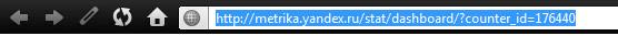Идентификатор счетчика Яндекс Метрики