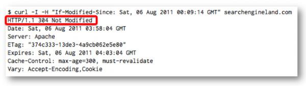 хэдер If-Modified-Since, содержащий ответ изменялся ли документ с момента последнего посещения или нет